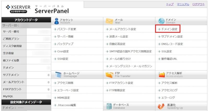 install wordpress info panel